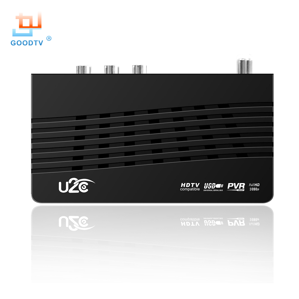 U2C DVB-T Smart TV Box HDMI DVB-T2 T2 STB H.264 HD TV Digitaalne - Kodu audio ja video - Foto 4
