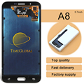 Dhl 10pcs Mobile Phone Lcd Display Touch Screen Digitizer Assembly For Samsung A8 A8000 Special Offer Free Shipping