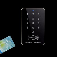 Rfid Lock System 125KHz Door RFID Card Password Access Controller With Keypad Machine Controller Keypad 10