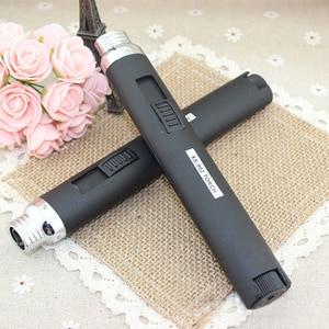 Image 5 - 1pcs 휴대용 야외 제트 불꽃 부탄 가스 리필 라이터 용접 토치 펜 P0.11