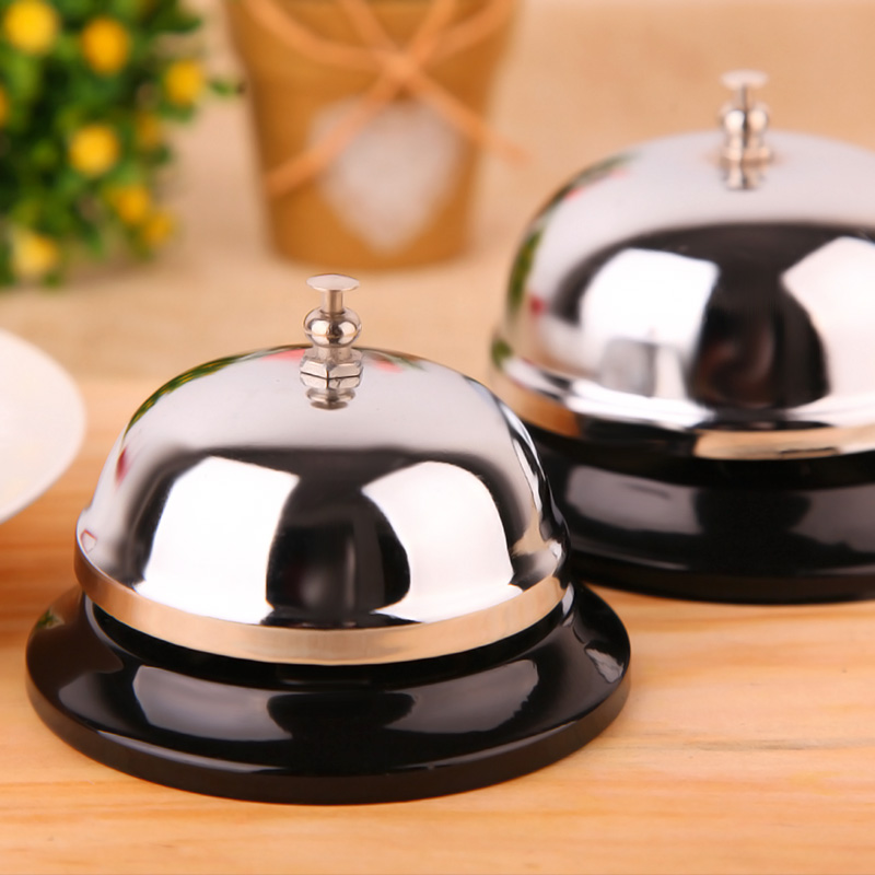 1Pcs Multifunction New Desk Kitchen Hotel Counter Reception Restaurant Bar Ringer Call Bell Service Ring 8.5cm F2199