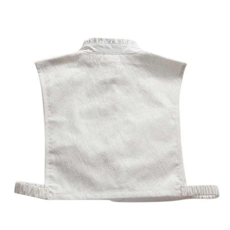 Blusa d Desmontable c Sweater Tops Moda Lapel Collar Mujeres Falso A Decor Collares Camisas b qTwfCf