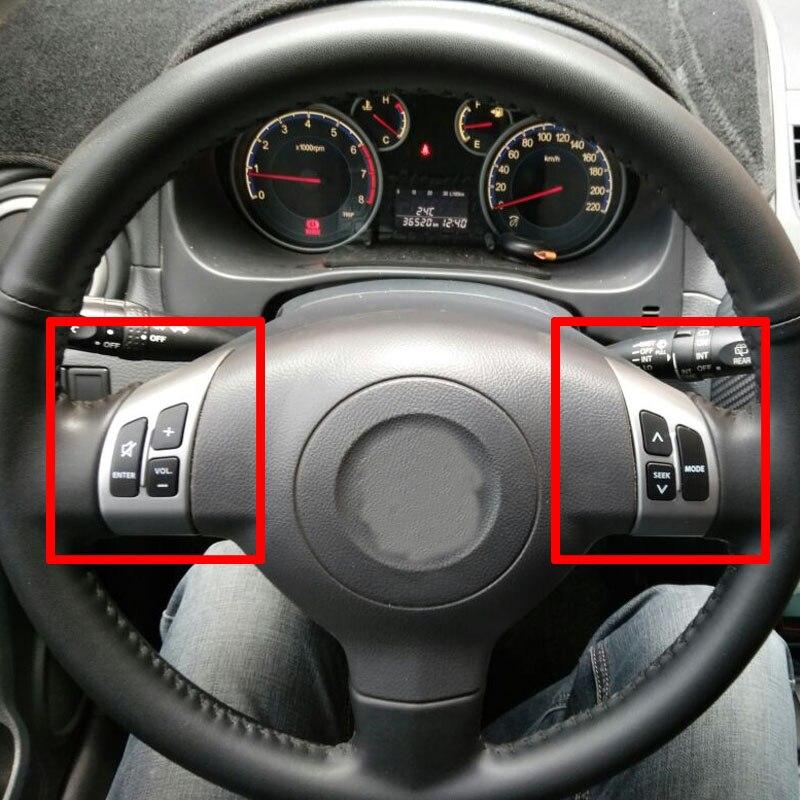 Multifunction Steering Wheel Switch Button Audio Volume Media Control Switch Button For Suzuki SX4 Swift 2006