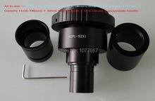 Best Sale ,NDPL 2x Can-non EOS  Microscope Camera Adapter SLR/DSLR/Microscope camera eyepiece adaptor 23.2mm dia +30mm ring