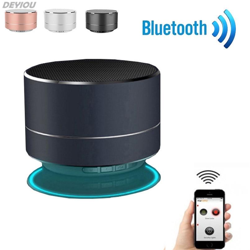 DEYIOU Portable <font><b>Bluetooth</b></font> <font><b>Speaker</b></font> Wireless <font><b>Bluetooth</b></font> <font><b>Speaker</b></font> 3D Dual Loudspeaker <font><b>Surround</b></font> Mini USB Charging