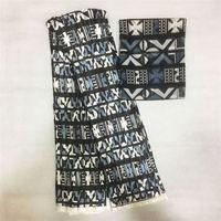 New design silk wax fabric ankara printing wax fabrics pleated silk wax fabric for dress making pleated wax print silk fabric