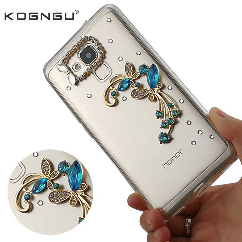 3D Main Strass pour Huawei Honor 5c Cas Diamant Silicone Pare-chocs pour Huawei 5c Honor Couverture pour Huawei 5c Cas