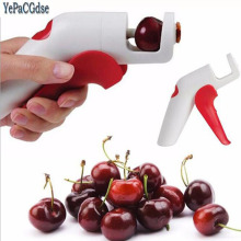 1 pc Creative Cherries Plastic Fruits Tools Fast Remove Cherry Seed Removers Enucleate Keep Complete