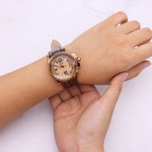 Image 5 - למעלה יוליוס גברת נשים של 5 צבעים אוטומטי תאריך שעון יד אלגנטי מעטפת רטרו אופנה שעות צמיד עור ילדה יום הולדת מתנה