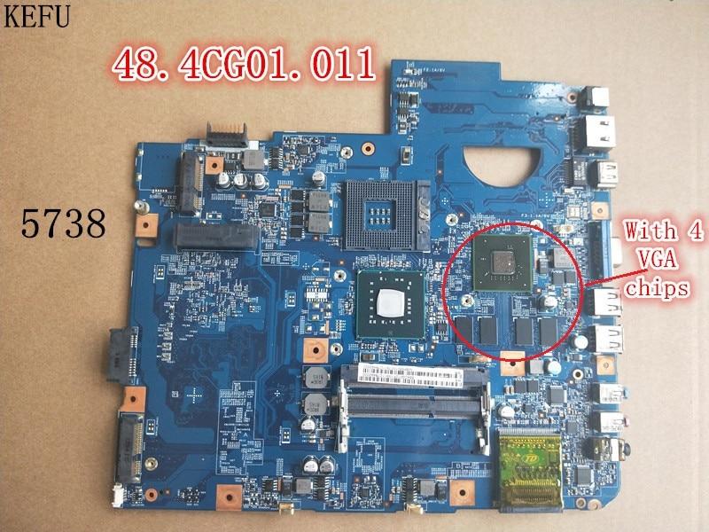 KEFU Motherboard for ACER ASPIRE 5738 5338 MB P5601 007 JV50 MV 48 4CG01 011 tested