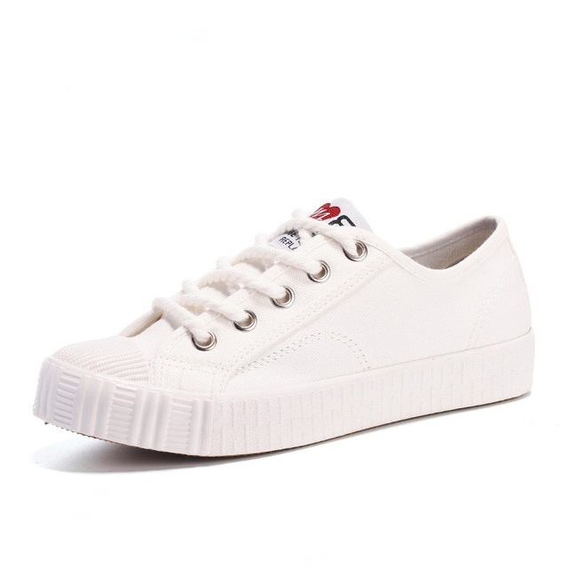 WOLF WHO Women Canvas Shoes Female Casual White Krasovki Students Girls Flats Superstar Tenis Feminino Casual Basket Femme H-114