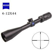 Новый цель оптический прицел ZEISS 4-12X44 прицел Открытый Охота оптика прицел для путешествий Chasse Сфера Gun Каза аксессуар
