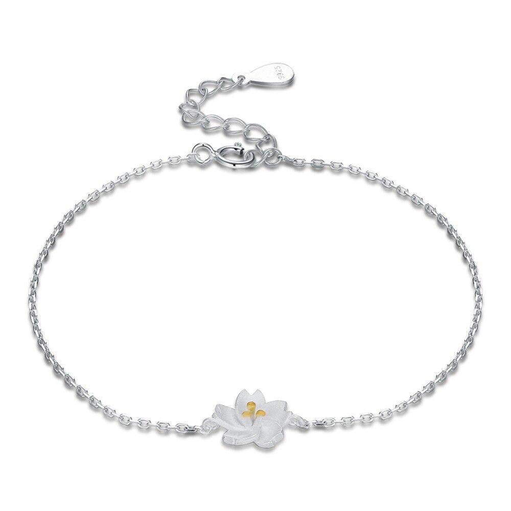 CB876 Women Fashion Bridal Jewelry Flower Opal Charm Bracelets Gold Color Crystal Statement Bracelets & Bangles