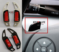 Steering Wheel Extension Paddle Shifter Trim For Mercedes E CLS ML GL S SL SLR Class Benz W211 W219 W164 X164 W221 R230 R171