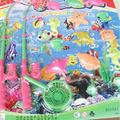 2015 New Style Learning & education Magnetic Fishing Toy Kid Baby Bath Time Fun Game