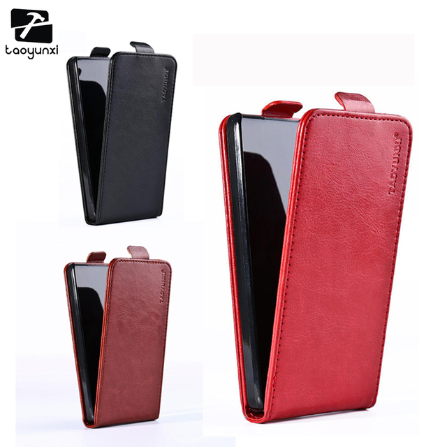 TAOYUNXI Flip Leather Phone Cases For Sony Xperia E C1504 C1505 Dual C1604 C1605 Business style Vertical Phone Cover 3.5 inch