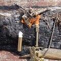 Kits de Herramientas de supervivencia del Arrancador de Fuego de Bronce Senderismo Supervivencia Que Acampa Gear/Latón De Petróleo Ligero