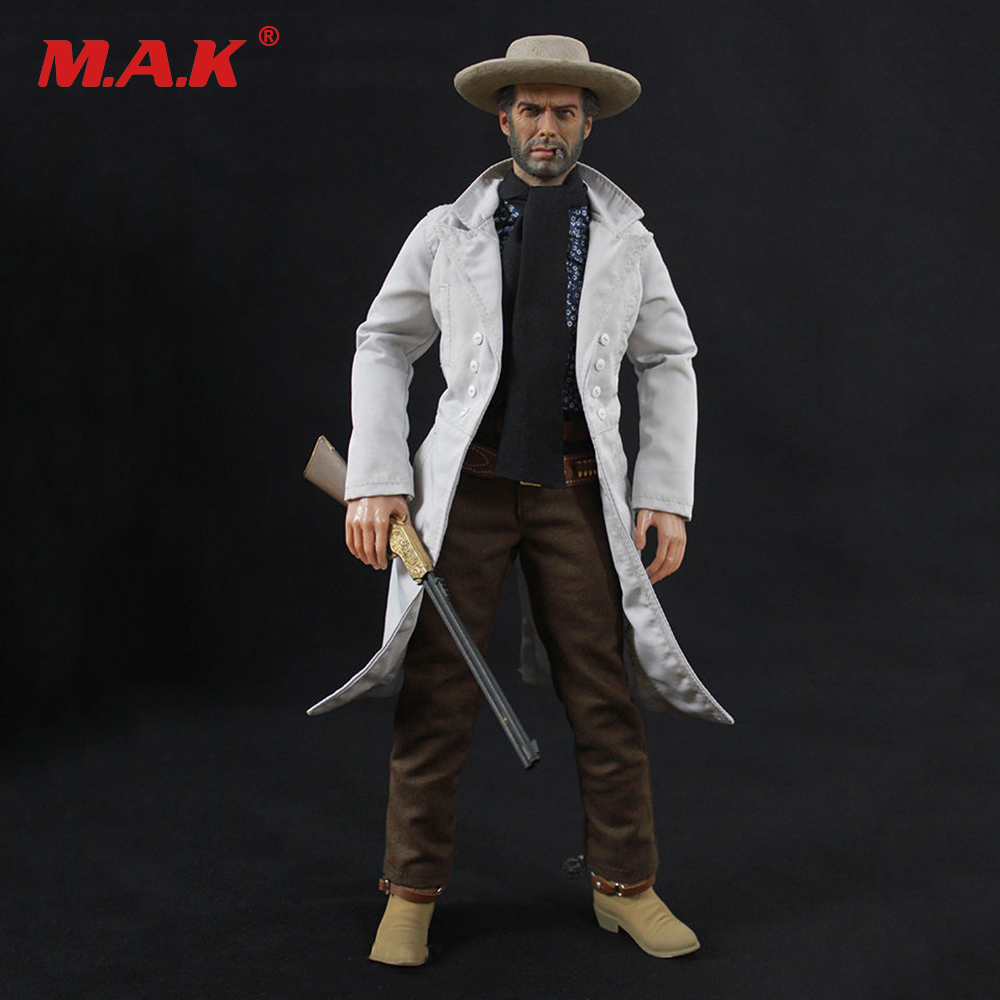 On Sale 1/6 Scale Cowboy The Good Action Figure Collectible Blondie Clint Eastwood Figure Model Collections 1 6 scale full set soldier the lord of the rings elven prince legolas action figure toys model for collections
