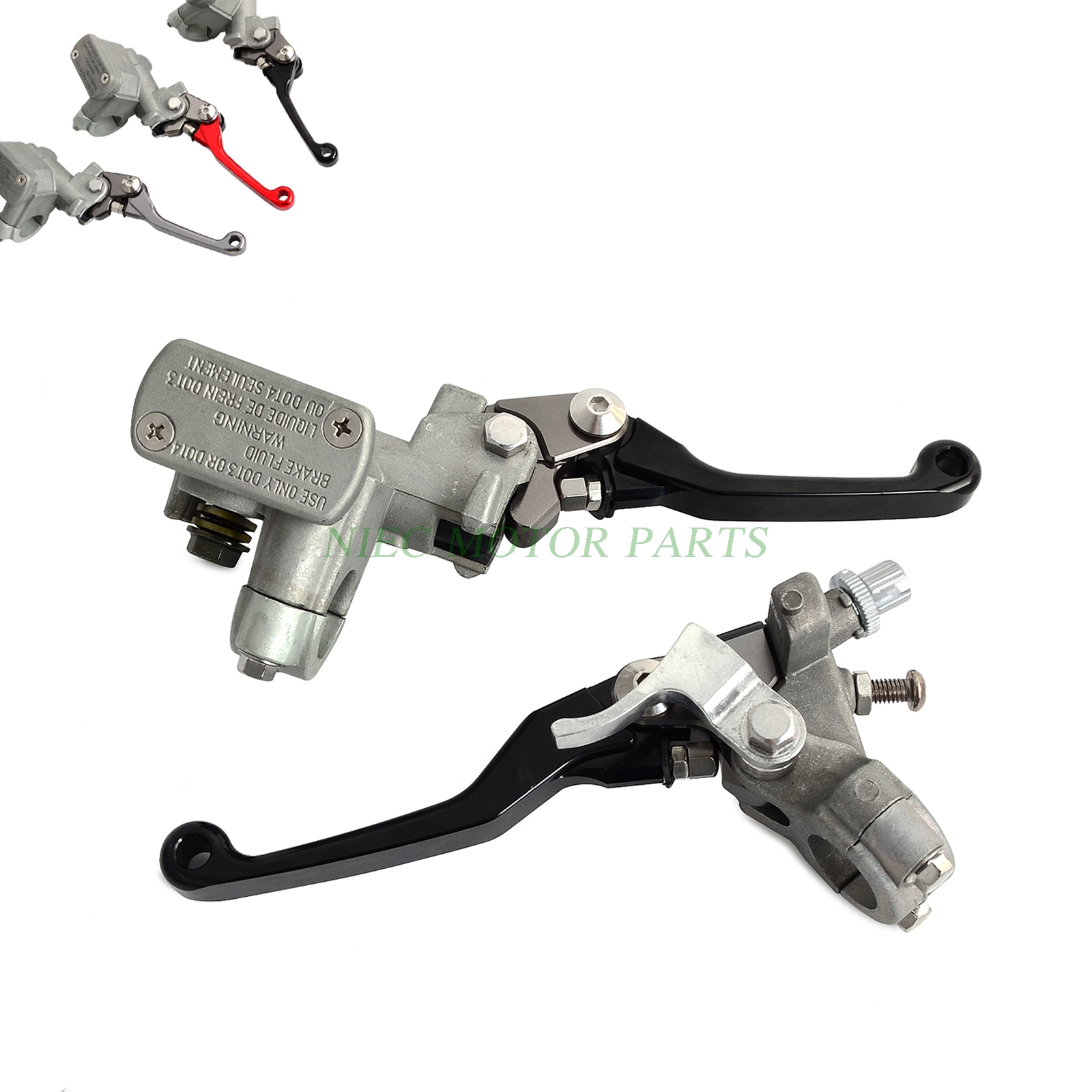 Brake Clutch Master Cylinder Lever For Honda CR125R CR250R 1996-2007 CRF250R/X 2004-2016 CRF450R 2002-2006 CR500R CRF150R коврик в багажник honda cr v 2002 2006 кросс полиуретан