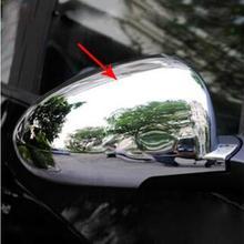 Более высокая звезда 2 шт автомобиля Боковая дверь Зеркало украшения крышки, Защитная крышка для CHEVROLET Aveo/Sonic 2011