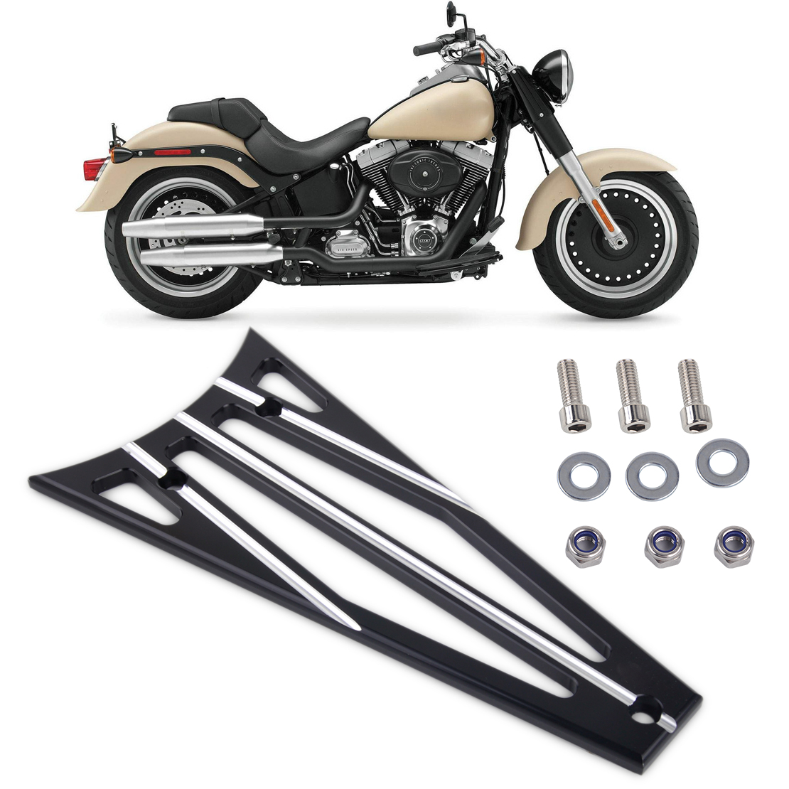 DWCX Motocycle 3 Columns Billet Deep Cut Frame Grill For Harley Electra Glide Road King Road Street Glide 2009 2010 - 2012 2013 12 inches male muscular body figures without neck for 1 6 scale mens head sculpts gifts collections toys