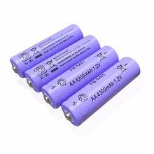 4PCS AA 2a 2A 5# 4200mAh 1.2V NI-MH Rechargeable Battery Batteria Batteries JNKXIXI Cameras toys clocks shavers telecontroller