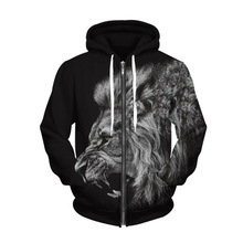 New Hoodies Men/Women Hooded 3d Print Tiger Men Sweatshirt Long Sleeve Cap lovely Tracksuit Hoody streetwear