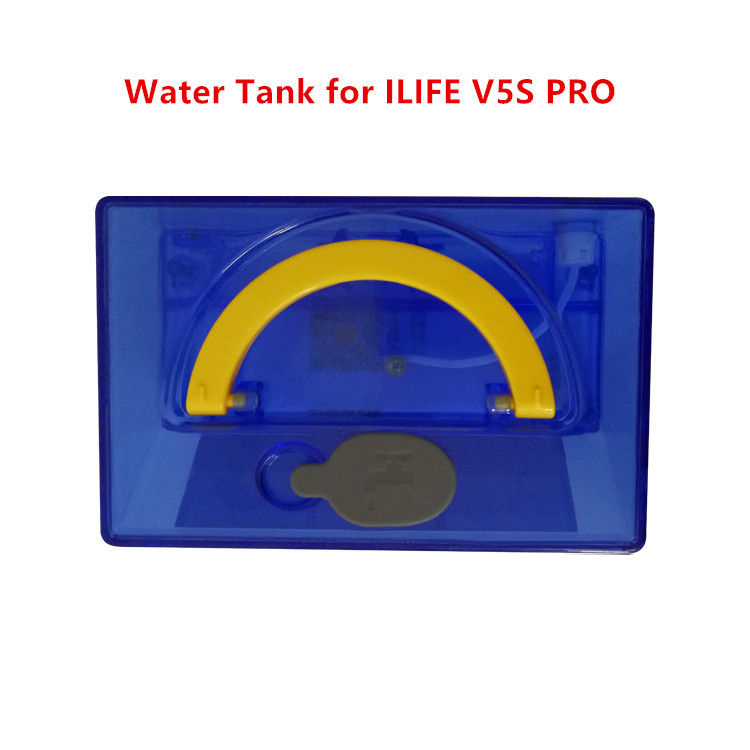 1pc Original Large vacuum cleaner Water Tank for ILIFE V5S PRO  Robot Vacuum Cleaner Spare Parts Water Tank bin box replacement original ilife v5 mop for robot vacuum cleaner ilife model 2016 new spare parts replacement from factory 1 pc free shipping
