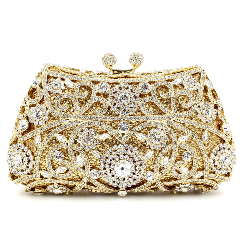 Silver Sparkly Clutches Promotion-Shop for Promotional Silver ...