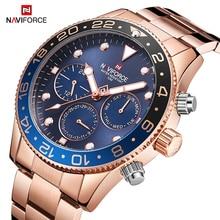 Top marque NAVIFORCE hommes montre décontractée à la mode de luxe Quartz hommes montre bracelet Sport étanche mâle horloge montres Relogio Masculino
