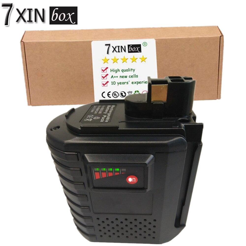 7XINbox 24V 3.0AH BAT019 Rechargeable Battery For Bosch GBH 24VFR GBH 24VRE GBH 24VR BAT020 BAT021 Ni-MH 3000mAh аккумуляторный перфоратор bosch gbh 180 li 4 0ач x2 0611911023