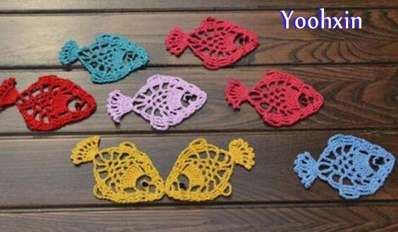 CALDO del merletto del cotone Crochet tabella stuoia di posto di ...