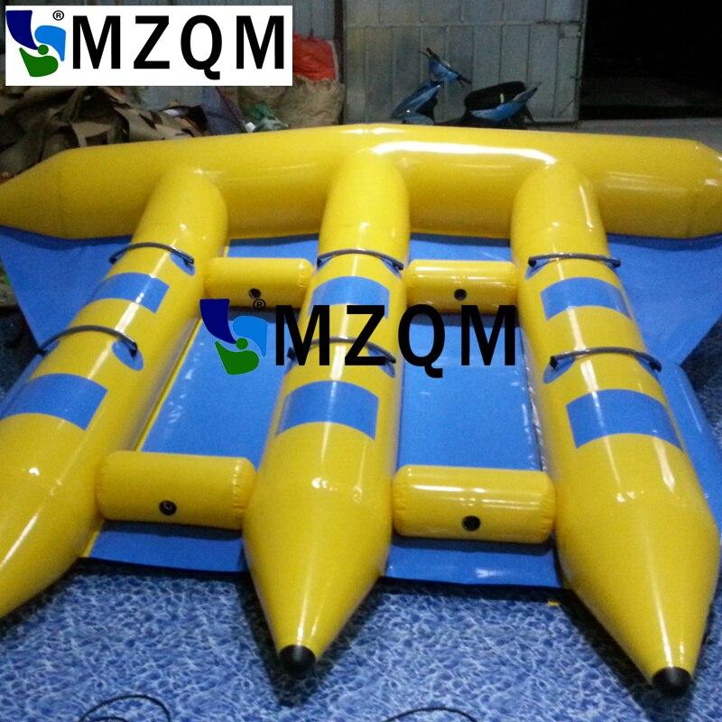 Tube de poisson volant gonflable extérieur MZQM bateau remorquable gonflable bateau banane gonflable bateau mouche poisson
