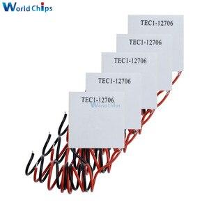 Image 3 - Peltier refrigerador termoeléctrico TEC1 12706, lote de 50 unidades, 12706 TEC, 12V, nuevo TEC1 12706 de refrigeración de semiconductores, Peltier Elemente
