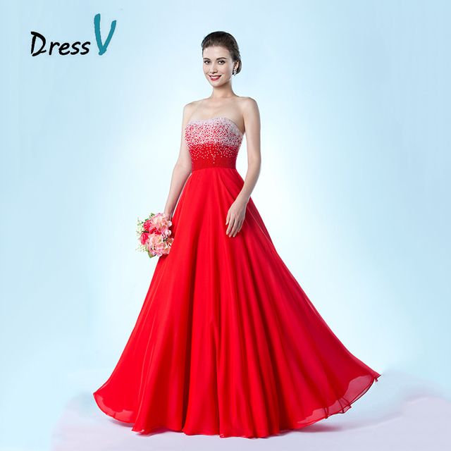 Wholesale Red Bridesmaid Dresses Cheap A-Line Sweetheart Pearls Maid of Honor  Dress Vestido de festa Wedding Party Dresses 5e9cf5663142