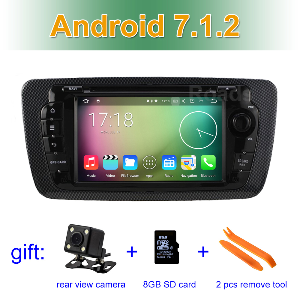 2GB RAM Android 7 1 2 font b Car b font DVD Player GPS for Seat