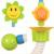 Brinquedos para o Banho do bebê Crianças Brinquedo de Banho Torneira Do Chuveiro Cabeça de Chuveiro de Girassol Colorido Plástico ABS Banho de Água Toys Presente Das Crianças