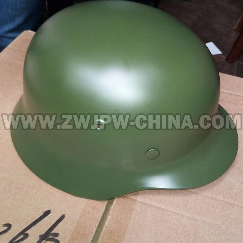 WWII Germany Army M40 Helmets WW2 German Army Caps Green Color DE 40706