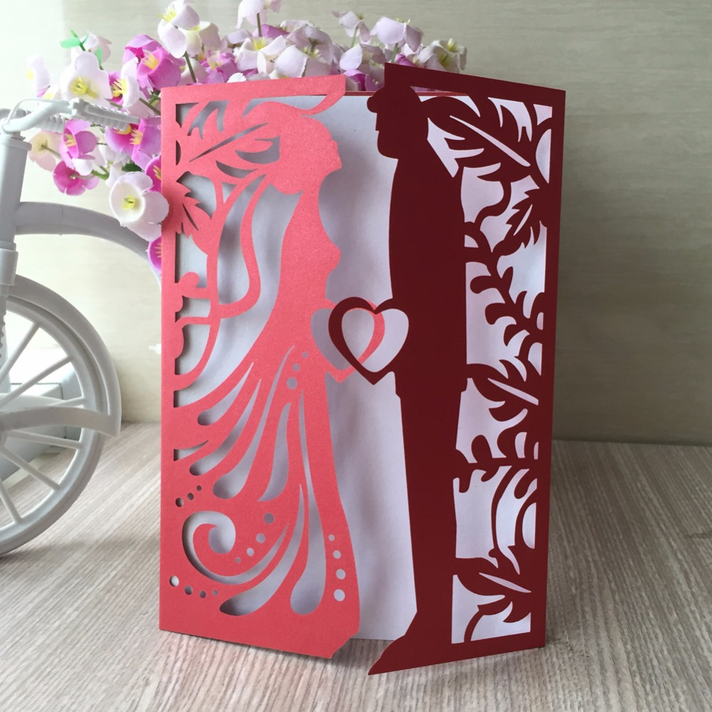 12pcs New Royal Romantic Laser Cut 250gsm Glossy Paper elegant ...