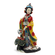 цены Marvel Vintage Dolls Chinese Porcelain Figure Collectible Sculptures Statue Painted Figurine Art Ceramic Angel Home Decor
