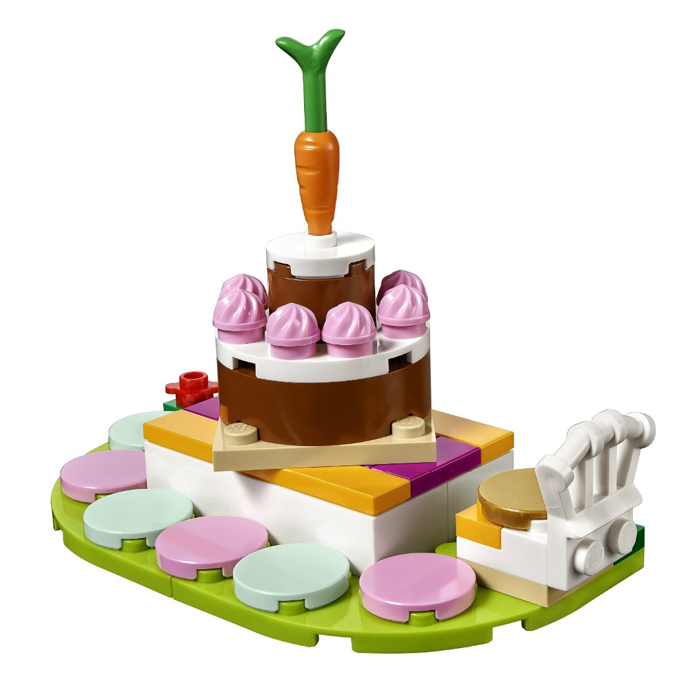 BELA Friends Series Birthday Party Building Blocks Classic For Girl Kids Model Toys Marvel Compatible Legoe