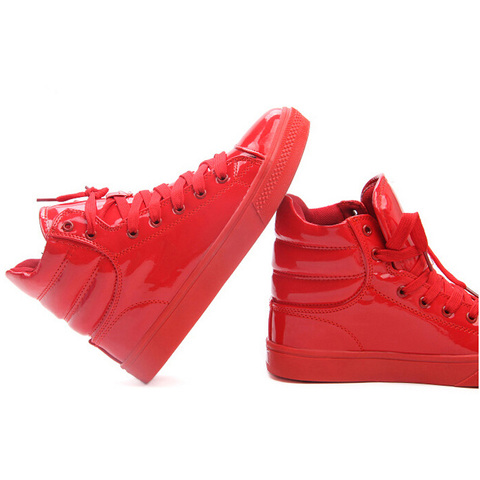 MIUBU New Arrival Lighted Candy Color High-top Shoes Men Unisex Fashion Shoes Flat Platform Shoes Couple Shoes Islamabad