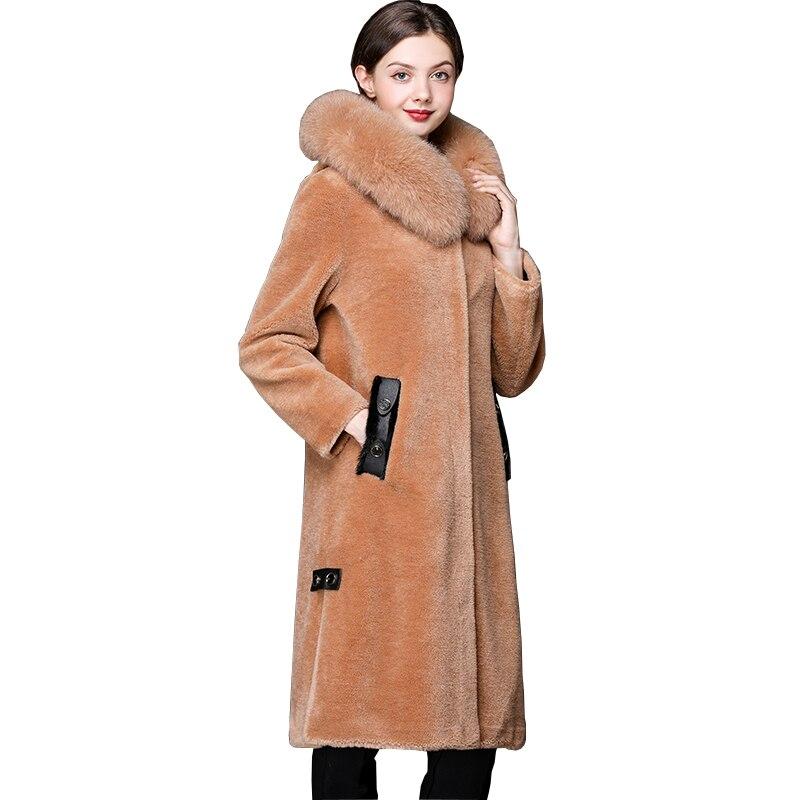 low priced 44752 ef2d8 R-el-100-Laine-Manteau-De-Fourrure-Tonte-des-Moutons-Fourrure-Manteaux -Renard-Col-De-Fourrure.jpg