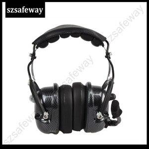 Image 2 - Авиационная рация, гарнитура, шумоподавление, Heaphone для Kenwood Baofeng UV 5R 2 контакта, двусторонняя радиосвязь