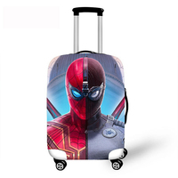 Spider Man Far From Home Thick Elastic Luggage Protective Covers For 18 30 Inch DIY Custom Travel Case Suitcase Waterproof Cover