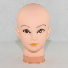 Training Head False Eyelash Extensions Make-up Heading Mannequin Professional Cosmetology Flat