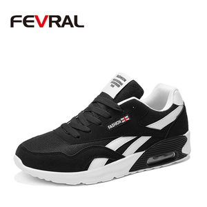 Image 1 - FEVRAL Spring Autumn Shoes For Woman Men Sneaker Comfortable Breathable Footwear Casual Excellent Shoes For Woman Men Size 36~44