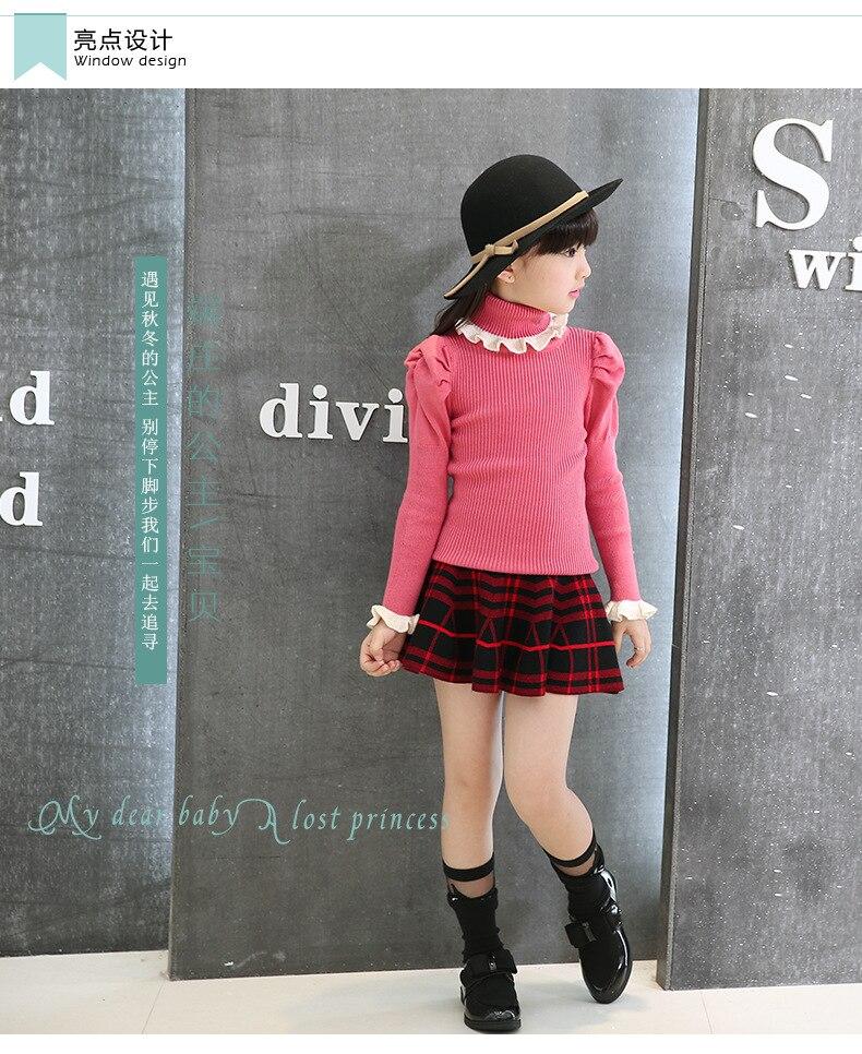 9ce0832ce8 Aliexpress.com : Buy Hot Korean Children New Girls Knit Pleated ...