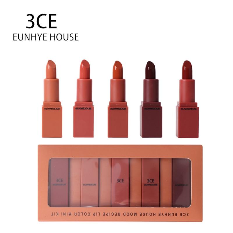 3Ce Eunhye House Lipstick Matte Lipstick Waterproof Lips -9279