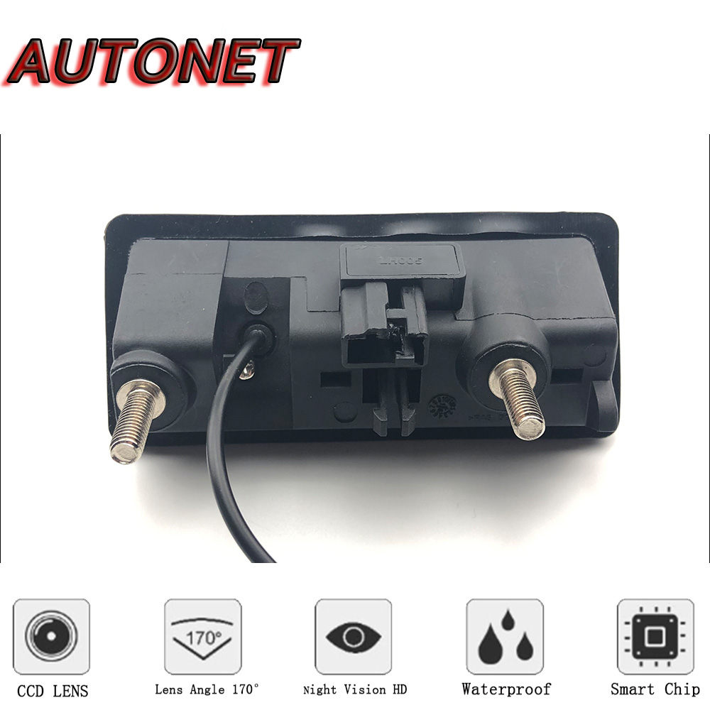 4 LED CCD Rearview Camera Reverse Parking Backup for Porsche Cayenne 2011-2014
